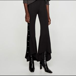 Zara flared trousers